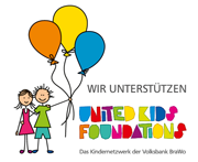 Wir unterst�tzen die United Kids Foundations